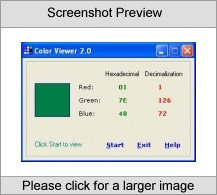 Color Viewer Screenshot